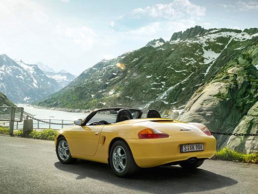 Unsere Wartungsangebote für Ihren Porsche Boxster (Typ 986)